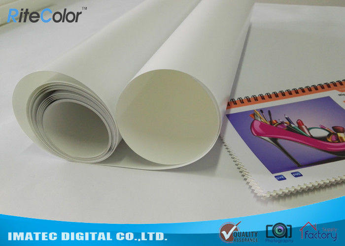 30M Eco Solvent Media RC Glossy Photo Paper For Roland Mimaki Printer ผู้ผลิต