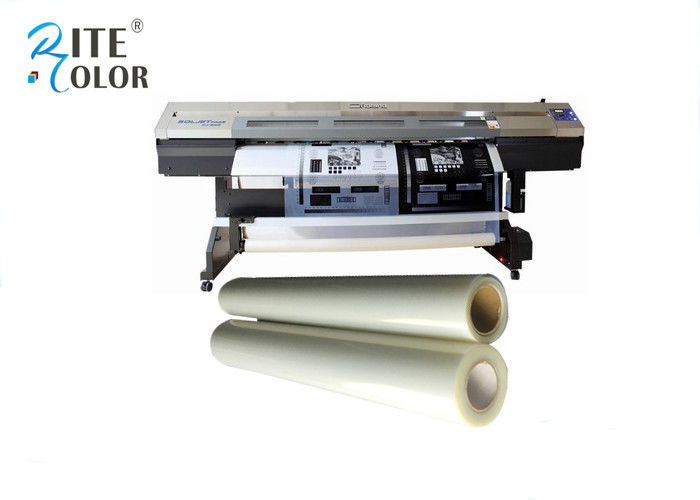 100 Micron Milky White Digital Inkjet Screen Printing Film PET material