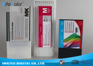 ประเทศจีน Industry Printing 350Ml Wide Format Inks , Epson 7900 / 9900 Printer Compatible Ink Cartridges ผู้จัดจำหน่าย