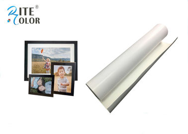 ประเทศจีน Water Resistance 260gsm Eco Digital Media , White RC Microporous Luster Photo Paper โรงงาน